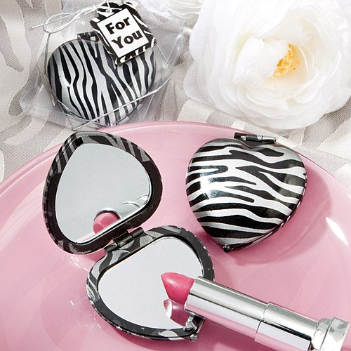 Zebra Print Mirror Compacts (1) for sale  Delivered anywhere in USA