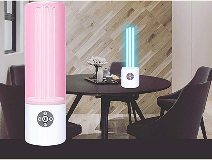 Keimt/ötende Lampe Antibakterielle Rate 99 Mobile Tragbare mit Ozon Uvc Sterilisationslampe Uv-Keimt/öTende Lampe F/üR Auto Haushalts Schule Hotel Pet Area