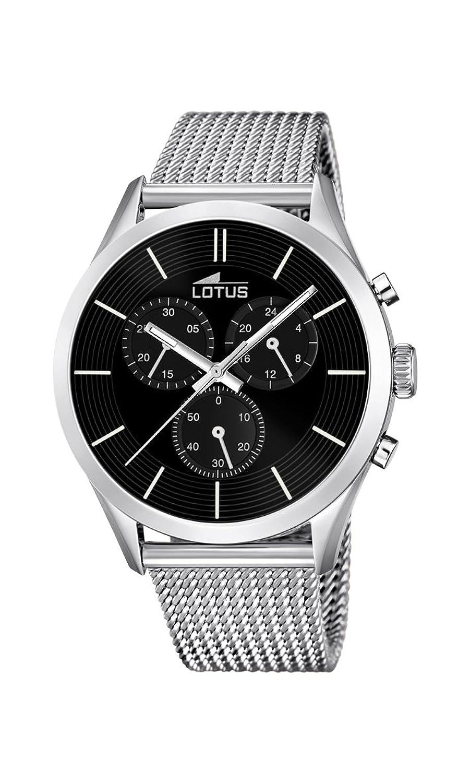 Lotus Herren-Armbanduhr Analog Quarz Edelstahl 18117-2