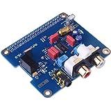 Kuman Raspberry piに適用 サウンドカード モジュール i2sインターフェース 専用PiFi Digi/DAC+ / HIFI Raspberry pi 3 2 Model B B +対応 ラズベリーパイdac SC08