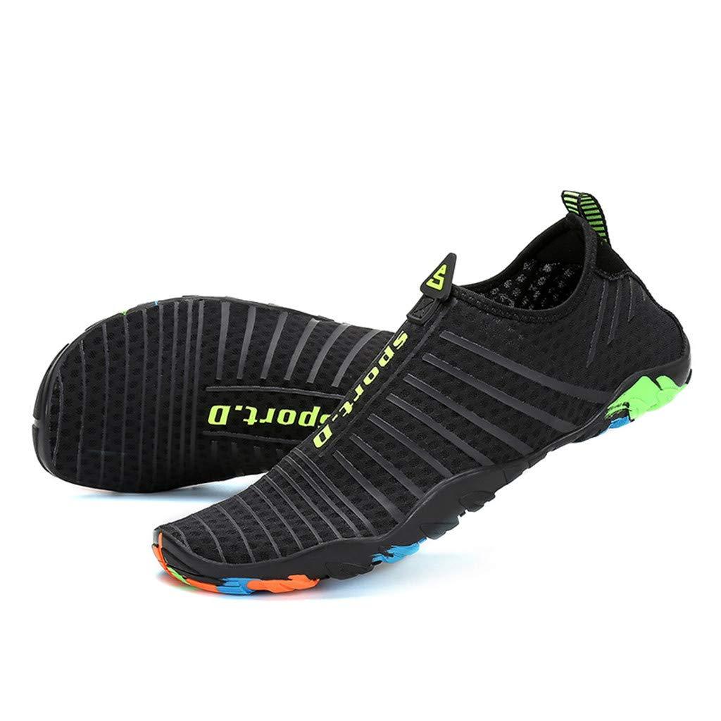 Ulanda Mens Womens Water Shoes Summer Outdoor Water Sports Shoes Barefoot Quick-Dry Aqua Socks for Beach Swim Surf Yoga