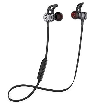 2df493280a Bluetooth イヤホン Parasom(パラソム) A1 ワイヤレス イヤホン IPX5 マグネット内装 Bluetooth 4.1 スポーツ  ヘッド