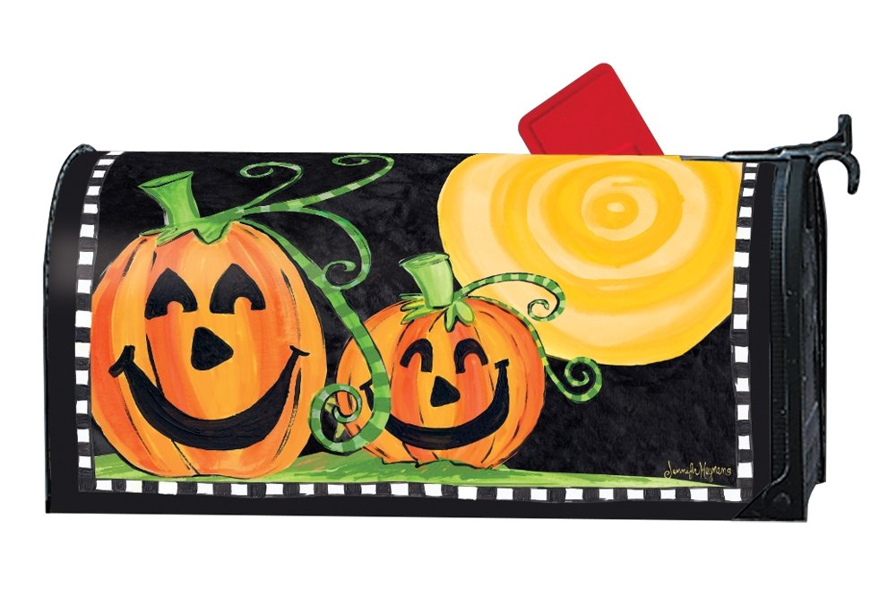 Studio M Outdoor Mailbox Cover MailWrap - Halloween is Here by Studio M