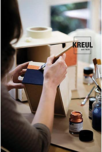 Amazon Com Metallic Acrylic Paint Kreul 50ml Red Ck 77573