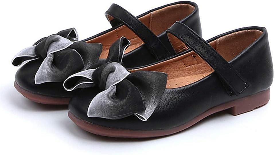 Zapatos de playa para bebés Grandes ventas, zapatos para niños pequeños, bebés, niñas, niños, bowknot, cuero, fiesta individual, princesa, negro, 7.5-8 años, niños, niñas, zapatos para niños