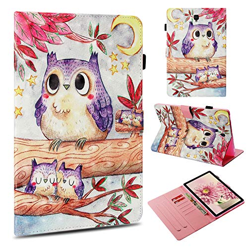 Galaxy Tab S4 10.5 Case,UZER 3D Series Premium PU Leather Shockproof Kick Stand Flip Wallet Case with Card Holder ID Slot Money Pocket Case for Samsung Galaxy Tab S4 10.5 ()