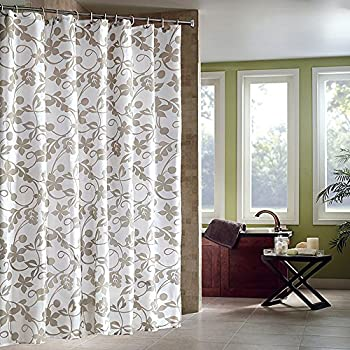 Riverbyland Shower Curtains Water Drop Grey 72 X 80 Delicate