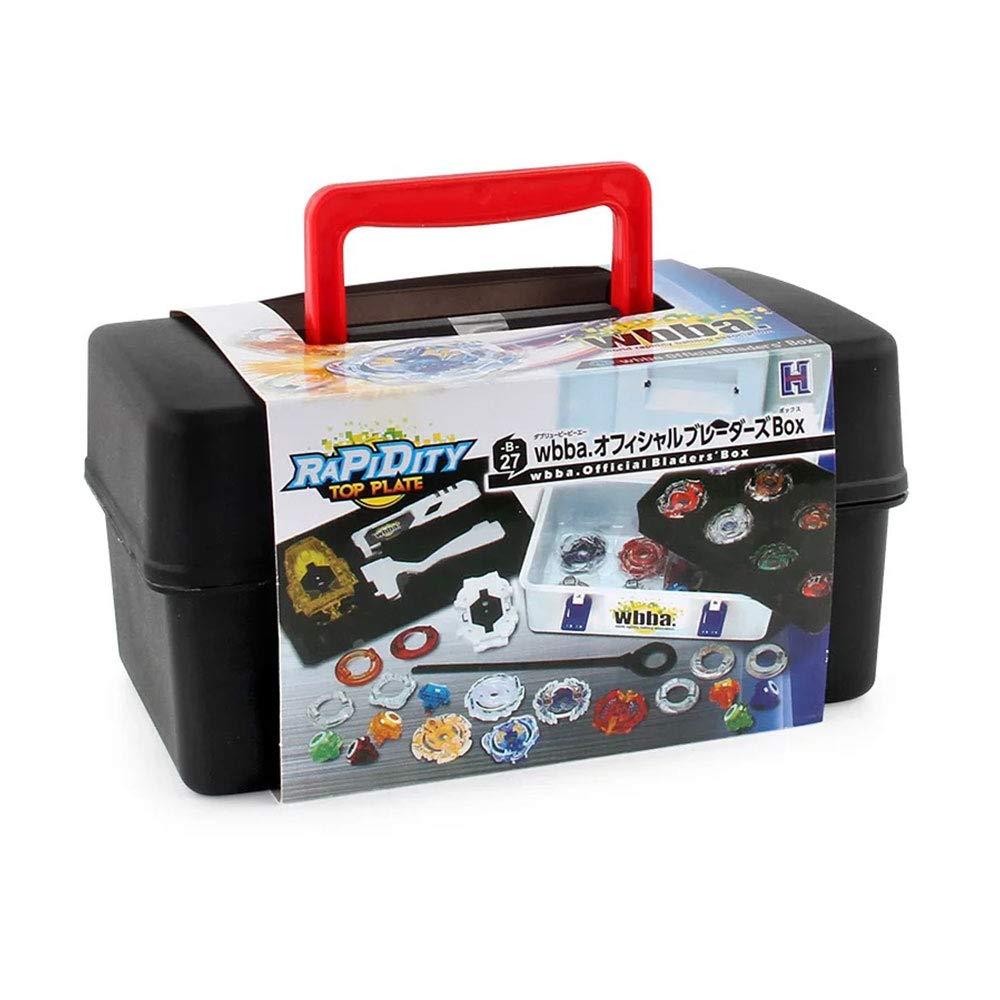 - HZH Set Beyblade Toy Kids Giocattoli educativi YZKJ Trottole da Combattimento Beyblade Burst 8 Trottole + 3 Il trasmettitore + 1 Manico + 1 Scatola di immagazzinaggio