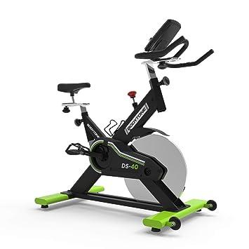 BT BODYTONE - DS-40 - Bicicleta Estática Profesional de Ciclo Indoor para Fitness y Spinning - Regulador de Resistencia y Display Bluetooth - Con ...