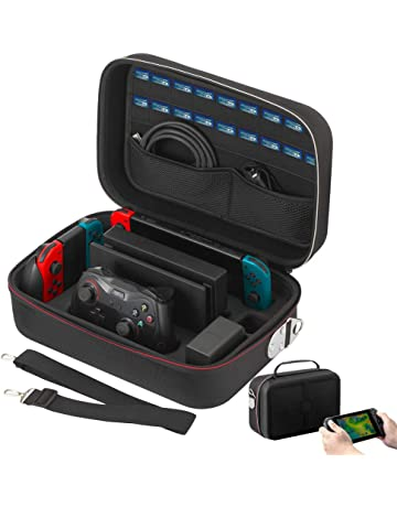 Vikena Deluxe Travel and Storage Case for Nintendo Switch,Game Carrying Case fit for Switch