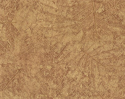 York Wallcoverings CL1808 Color Library II Tossed Leaves Wallpaper Browns ()