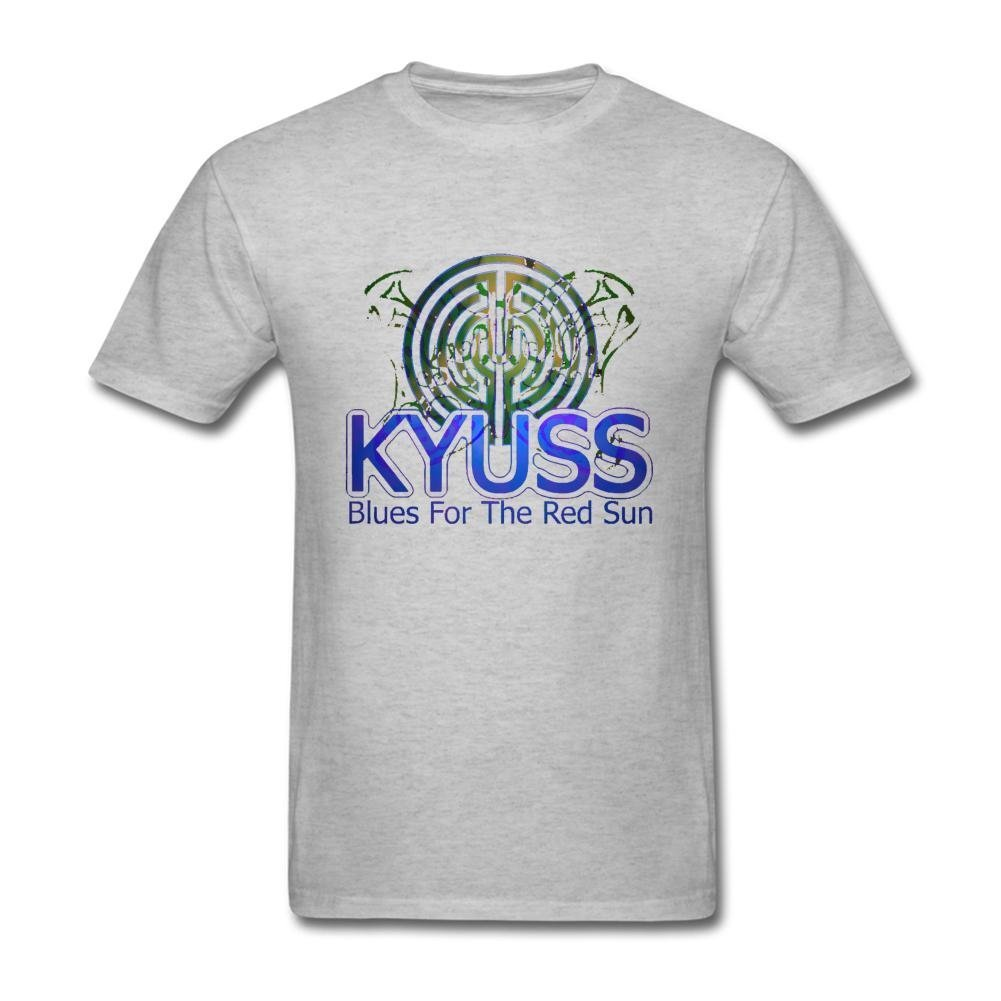 SUNRAIN Men's Kyuss Band Blues For The Red Sun T Shirt S