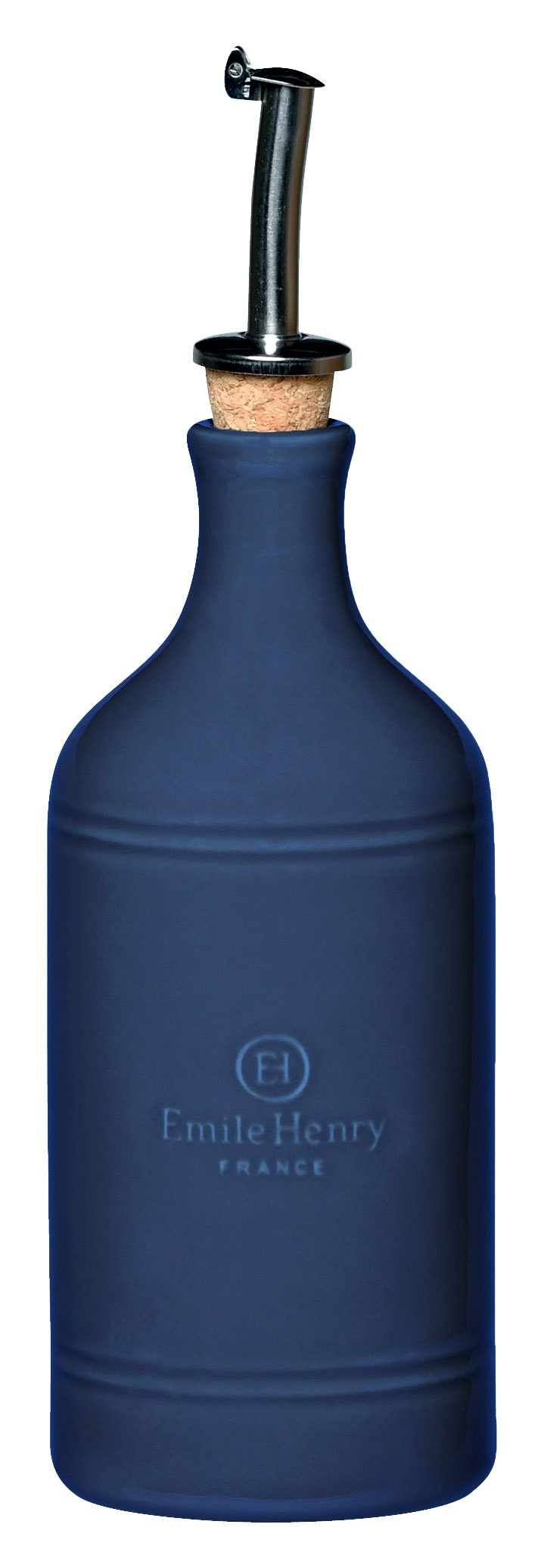 Emile Henry 550215 HR Ceramic Oil Cruet Bottle, Twilight