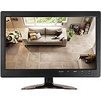 "JOHNWILL 10.1"" LCD TFT Screen PC Monitor 1366X768 Full View HDMI Industrial LED Screen Display with HDMI/VGA/AV-BNC/USB…"