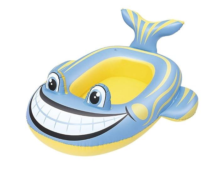 Bestway-34085 Barca Hinchable Animales, Color Azul, Verde ...