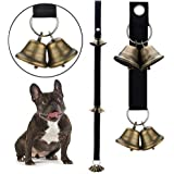 QUXIANG Dog Bells for Potty Training Dog Bells for Door Potty Bells and Housebreaking Your Doggy