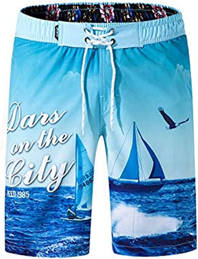 Herren Kurze Hose Männer Sport Sommer Kurze Hose Surfen Badehose Freizeit