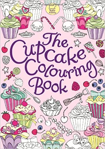 The Cupcake Colouring Book: Amazon.co.uk: Ann Kronheimer ...