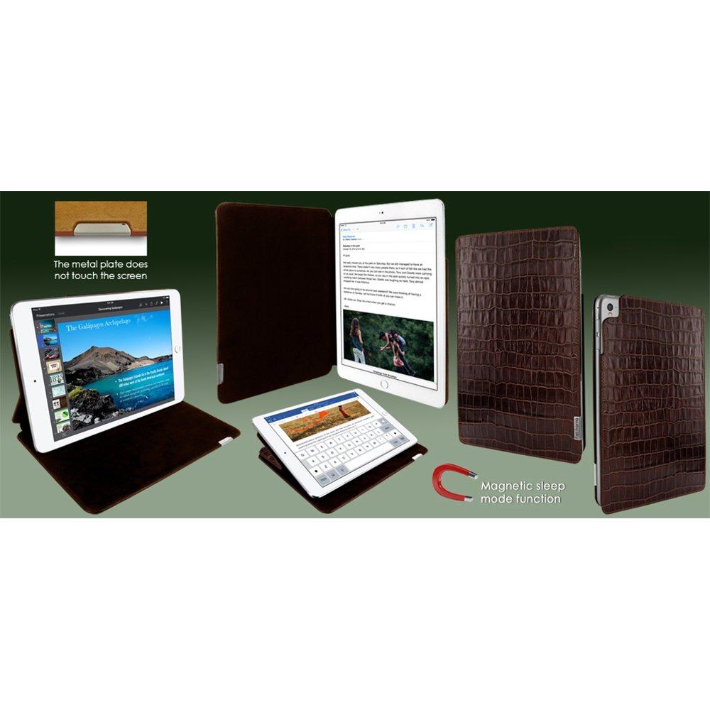 Piel Frama ''FramaSlim'' Leather Case for Apple iPad Pro 9,7'', Crocodile Brown (741COM)