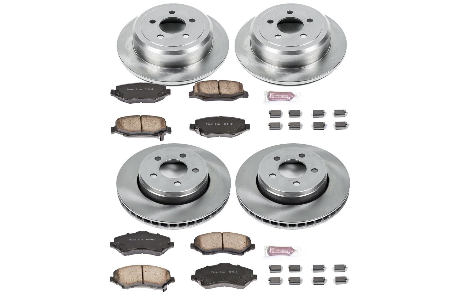 Autospecialty KOE2832 1-Click OE Replacement Brake Kit by POWERSTOP