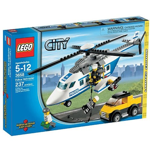 LEGO City Limited Edition Set #3658 Police Helicopter 8926200 9F2B8466