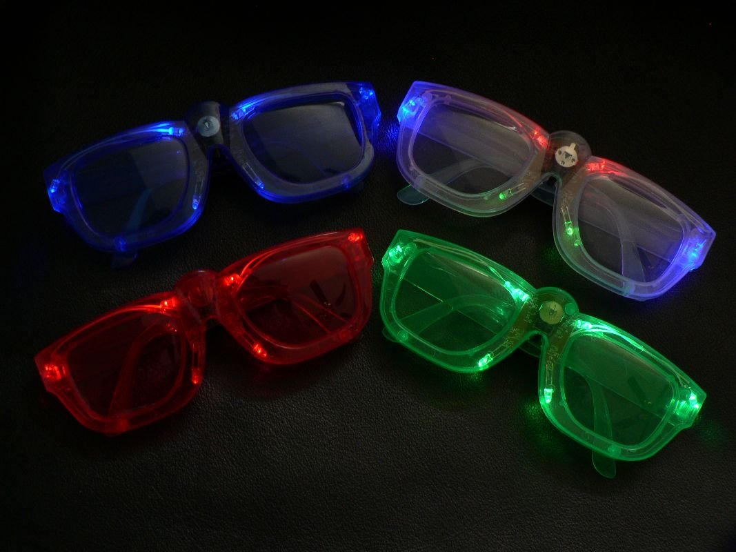 94fd425299 Amazon.com  Light up LED Shades Malibu Sunglasses 1 pair Assorted   Everything Else