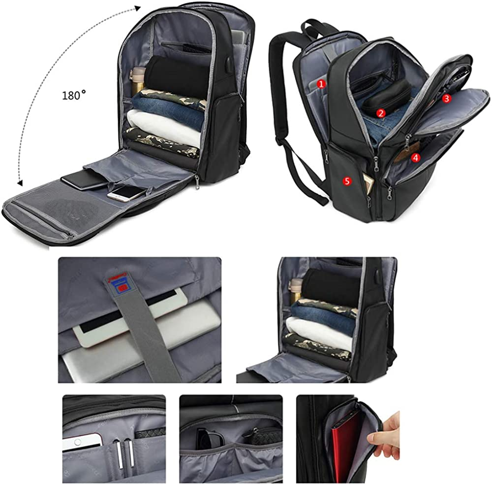 TFTREE Travel Backpack 17.3-inch Anti-theft Laptop Backpack