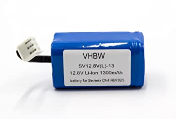 vhbw Batería Li-Ion 1400mAh (12.8V) para robot de casa Home Cleaner Philips FC8603, FC8700: Amazon.es: Hogar