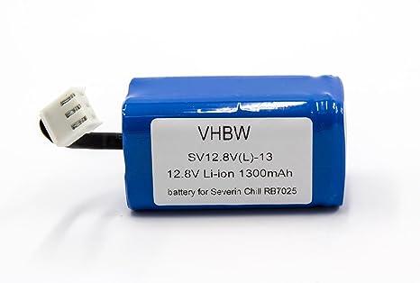 vhbw Li-Ion batería 1400mAh (12.8V) para robot autónomo de limpieza Severin