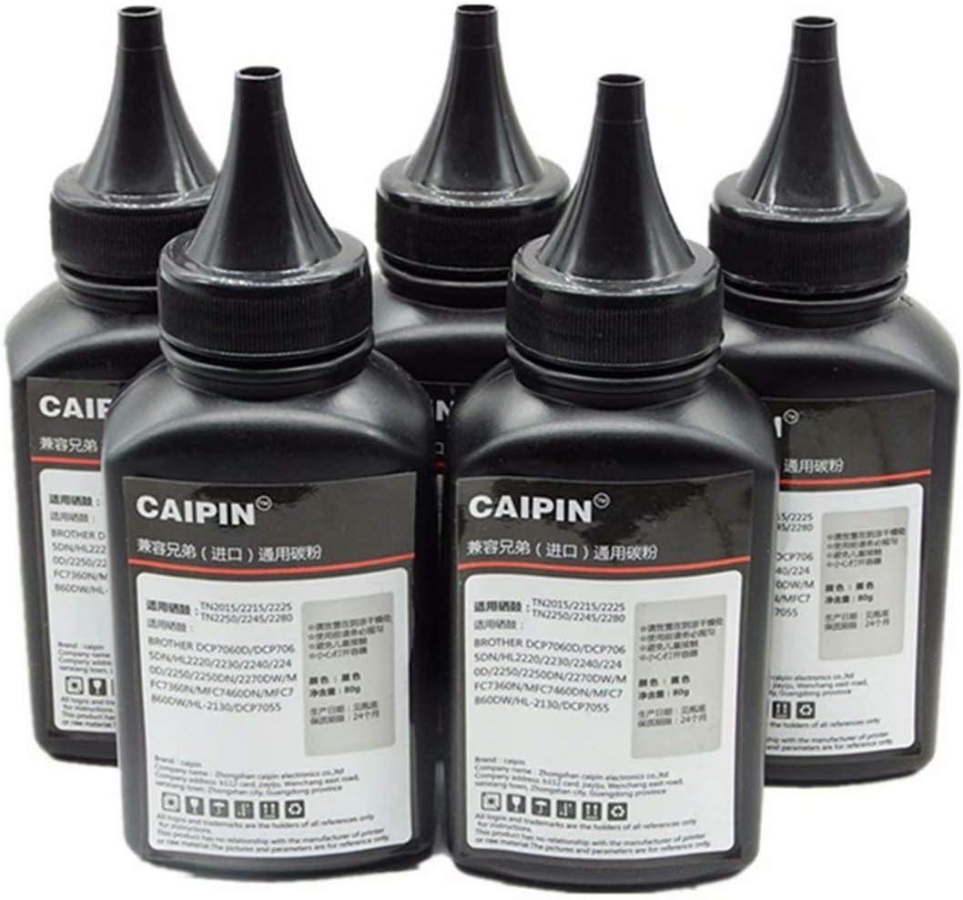 80g Original Black Refill Laser Printer Toner Powder Kit for Brother MFC 80g//Bottle,1 Pack 8420 8820D 8820DN 8460N 8660DN 8860DN 8870DW 8480DN 8890DW Imported Toner Power Laser Printer