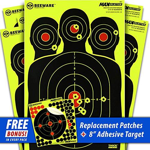 rifle targets human - 2
