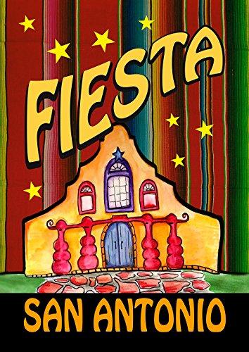 (Toland Home Garden Casa Fiesta San Antonio 12.5 x 18 Inch Decorative Party Garden)
