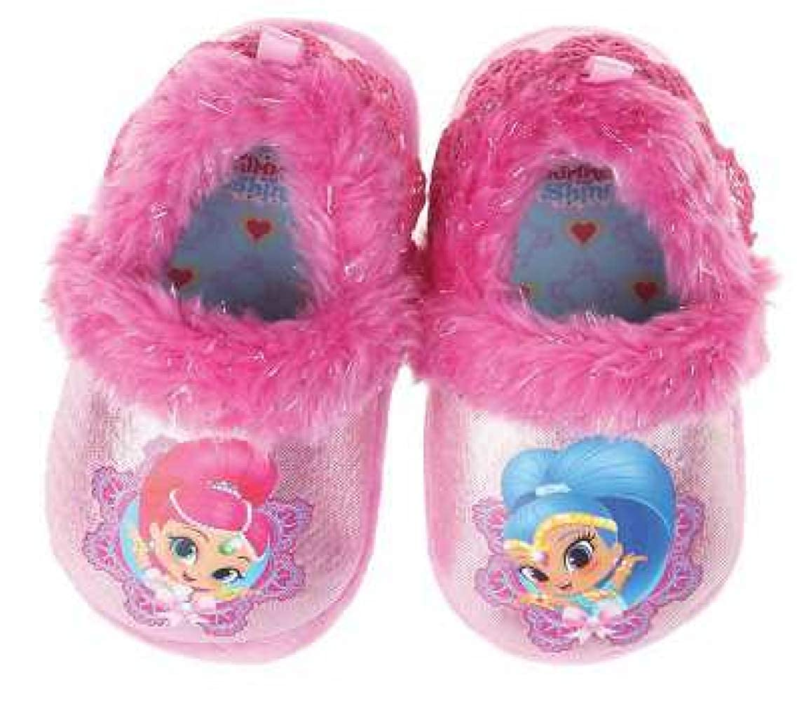 Shimmer and Shine Girls Bubble Guppies Slippers