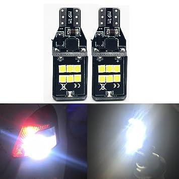 HConce - Bombillas LED de repuesto para Chevrolet Ford GMC Honda Nissan Toyota Truck Chipsets de