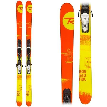 Rossignol Sprayer Skis Xelium 100 Bindings – 2015