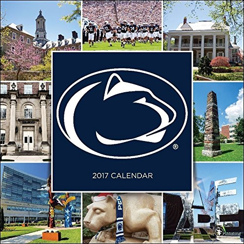 TF Publishing 171155 Wall Calendar 2017, Penn State University