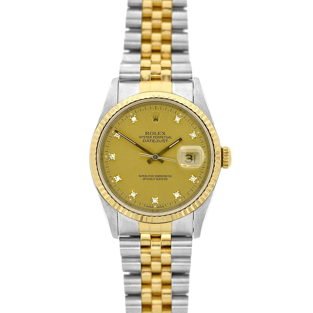 9c7ebb7fa35 Rolex Datejust swiss-automatic mens Watch 116233-CDJ (Certified Pre-owned):  Rolex: Amazon.ca: Watches