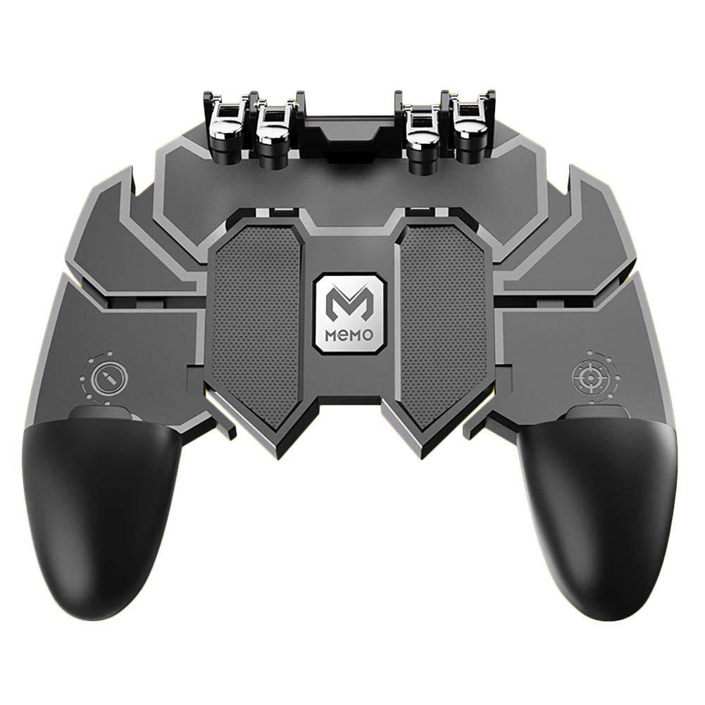 Seasaleshop Manette de Jeu sans Fil pour pubg Mobile Controller AK66/Six/Finger/All-in One/Mobile/Controller Gamepad Portable avec d/éclencheur