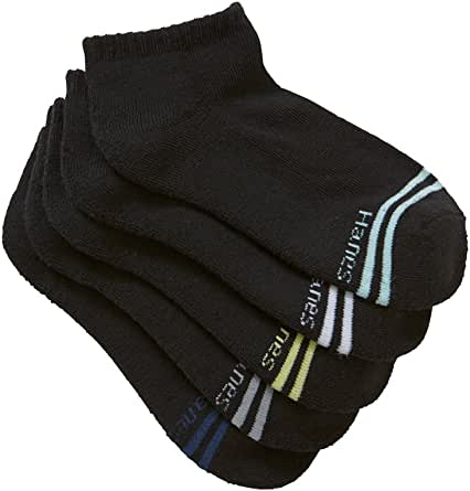 Hanes Kids Cotton Blend Active Low Cut Socks (5 Pack)