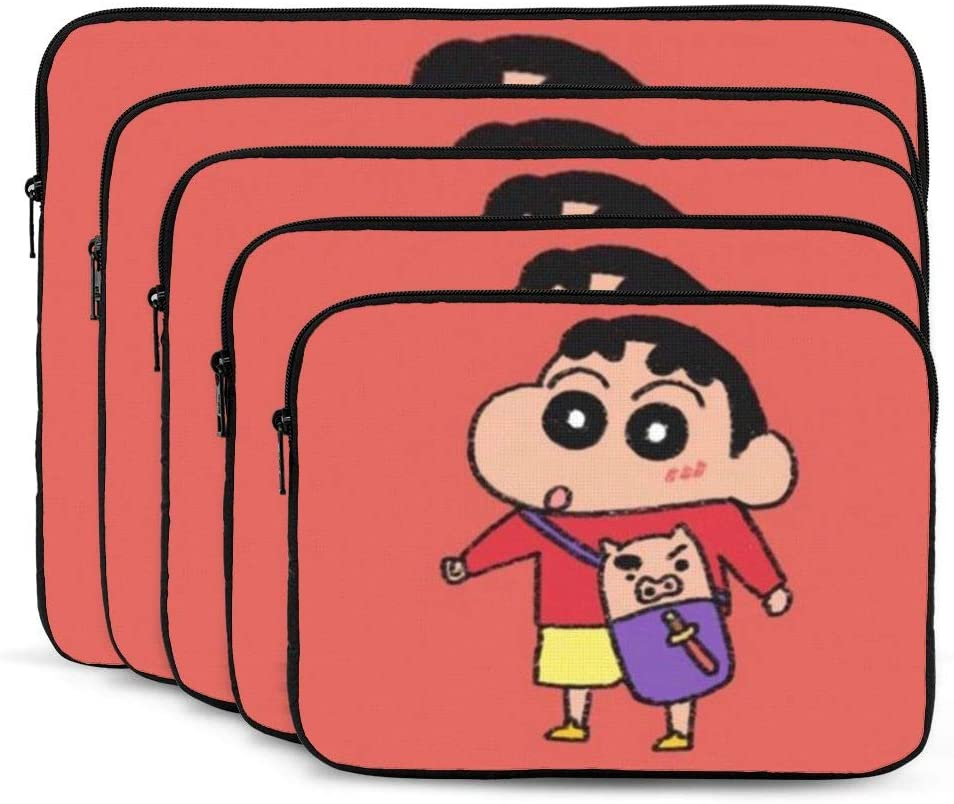 Multi Size Crayon Shinchan Notebook Computer Protective Bag Tablet Briefcase Carrying Bag,13 Inch Laptop Sleeve Case