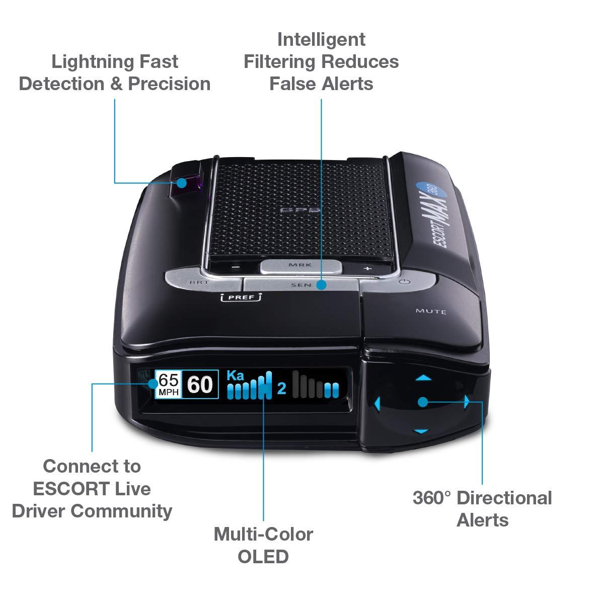 Mua Escort Max360 Laser Radar Detector Gps Directional