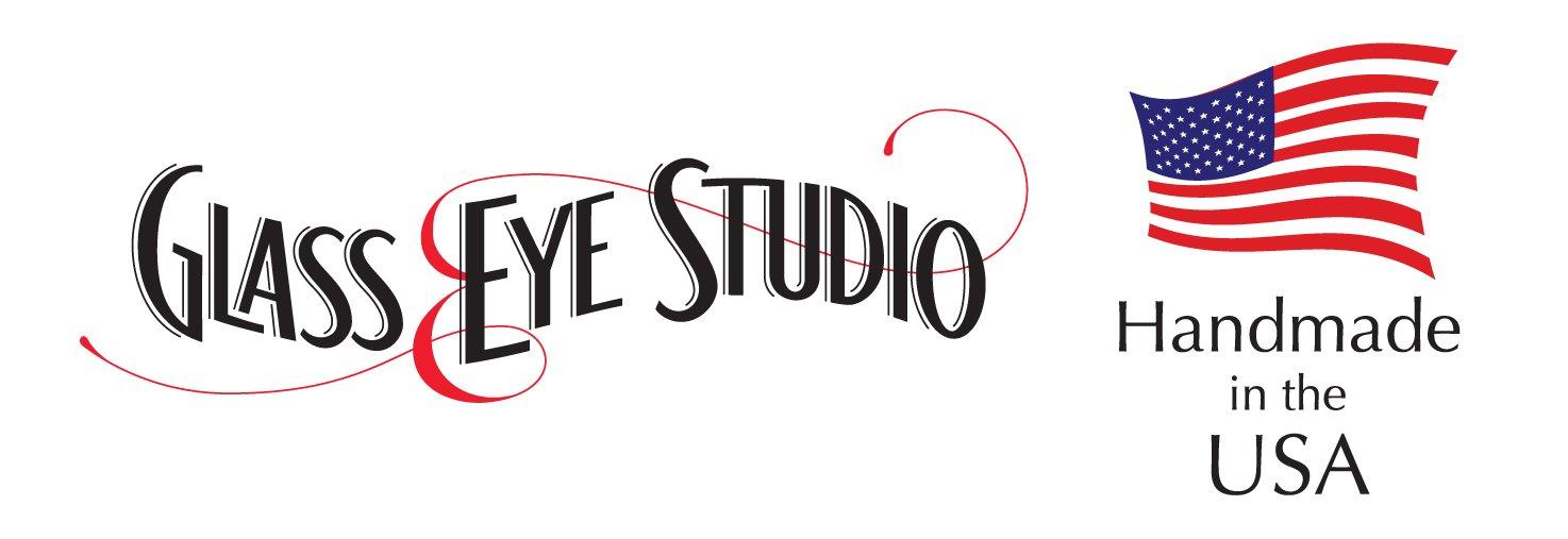 Glass Eye Studio Cresting Wave Blown Glass Paperweight