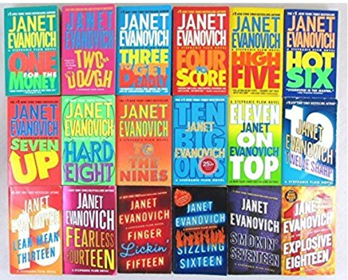 Janet Evanovich Set of 18