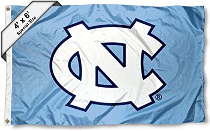 College Flags and Banners Co UNC Tar Heels 4x6 Flag