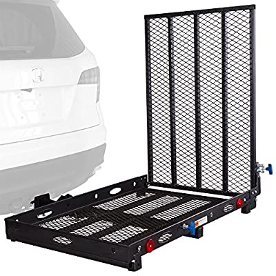 Apex Rage Powersports SC400 Mobility and Equipment Cargo Carrier with ramp