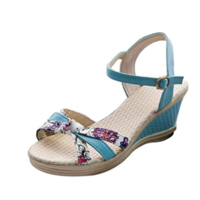 Alonea Summer Wedges Women's Sandals Flip Flops Pen Toe High-Heeled Women Shoes