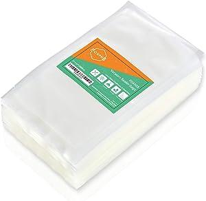 FOXMIS Vacuum Sealer Bags, 200 Quart Food Vacuum Sealer Bags, 8