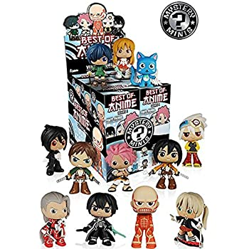 best of anime mystery minis mini figure display case set of 12 toys games. Black Bedroom Furniture Sets. Home Design Ideas