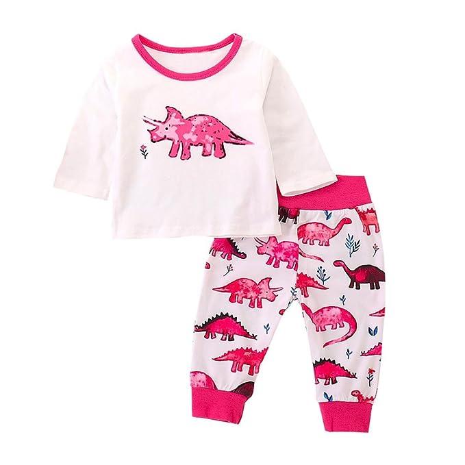 Amazon.com: Lavany - Conjunto de ropa de bebé de manga larga ...