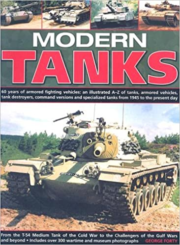 Book Modern Tanks: 60 Years Of Armoured Fighting Vehicles: An Illustrated A-Z Catalogue Of Tanks, Armoured Vehicles, Tank Destroyers, Command Versions And Specialized Tanks From 1945 To The Present Day